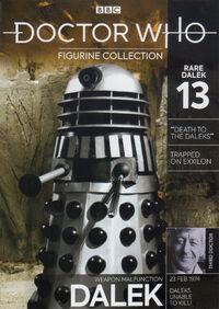 DWFC Rare Dalek 13 Weapons Malfunction