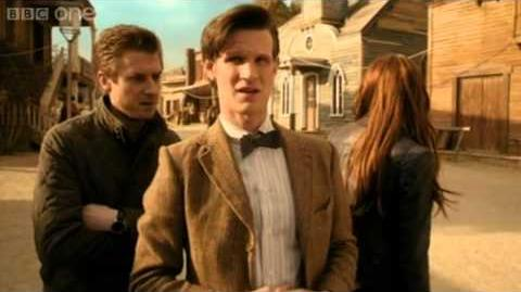 Arrival - Doctor Who 'A Town Called Mercy' teaser - Series 7 2012 Episode 3 - BBC One