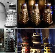 Daleks through the ages