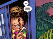 Fourth Doctor greets Judoon
