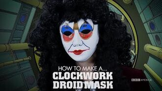 How to Make a Clockwork Droid Mask Wholloween Doctor Who