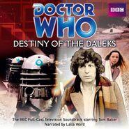 Destiny of the Daleks CD Soundtrack