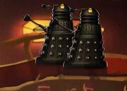 Black Daleks aboard Starbane