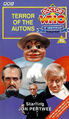Terror of the Autons VHS UK cover