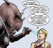 Five Negotiates with Judoon