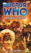 Invasion of the Dinosaurs VHS UK cover