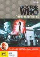 The War Machines DVD Australian cover