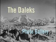 The Daleks Photo Gallery