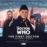 First Doctor Adventures V1 anachronistic cover