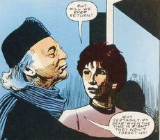 První Doktor opouští Gallifrey - komiks