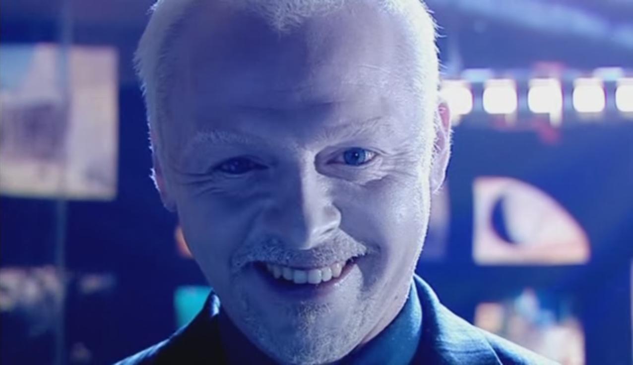 Simon pegg doctor who