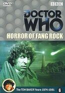 Horror of Fang Rock DVD Netherlands cover