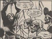 Sea Devil captured by pirates