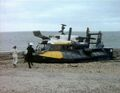 Jo and Hart run for hovercraft - Sea Devils.jpg
