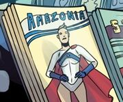 Amazonia (in-universe comic book)