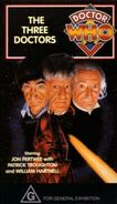 The Three Doctors VHS Australian cover
