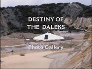 Destiny of the Daleks Photo Gallery