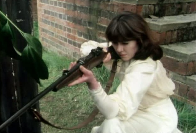 Image result for Sarah Jane Smith rifle
