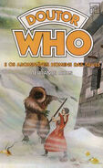 DW and The Abominable Snowmen Portuguese cover