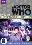 More than 30 Years in the TARDIS Region 2 DVD cover