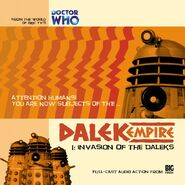 Invasion of the Daleks cover