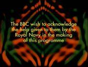 The Sea Devils credits - Royal Navy