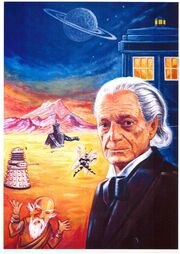 An Adventure in Space and Time Dr Who Annual 1966 art