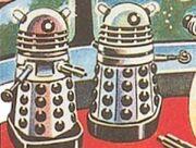 Altered Dalek design