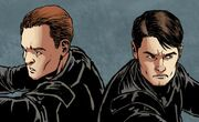 John Hart and Jack Harkness Time Agents