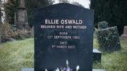 Ellie Oswald grave