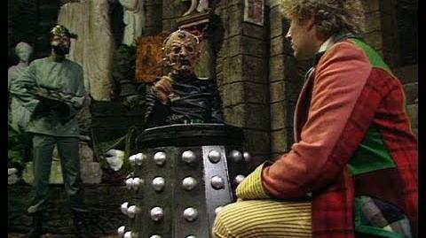 Davros the great healer - Doctor Who - Revelation of the Daleks - BBC