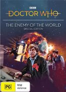 The Enemy of the World SE Australian cover