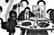 Virgin New Adventures TARDIS control room