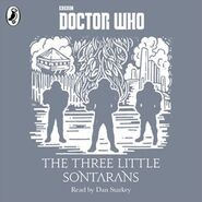 The Three Little Sontarans audiobook cover