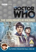 The Underwater Menace UK DVD Cover