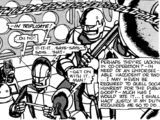 The Touchdown on Deneb-7 (comic story)