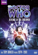 Revenge of the Cybermen DVD US cover
