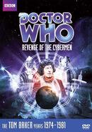 Revenge of the Cybermen DVD US cover