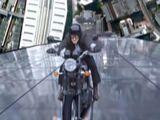 Anti-gravity motorbike