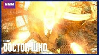 The Tenth Doctor Regenerates...into the Tenth Doctor - Doctor Who - The Stolen Earth - BBC