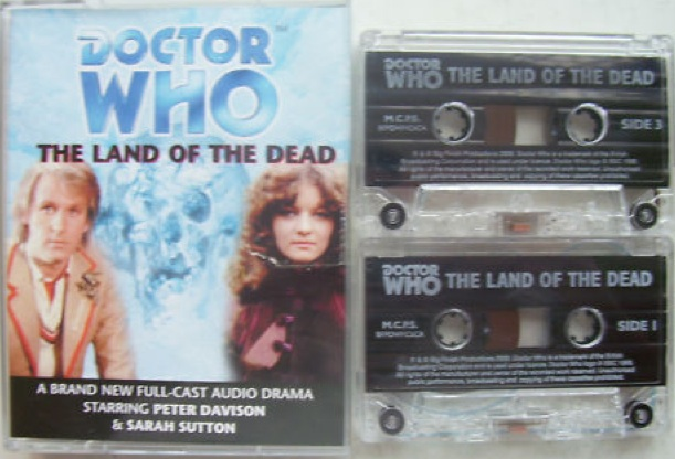 File:The Land of the Dead cassette cover with cassettes.jpg