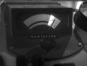 TARDIS radiation meter