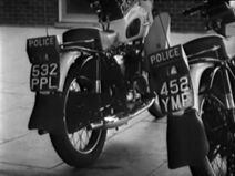 Police motorcycles (The Faceless Ones)