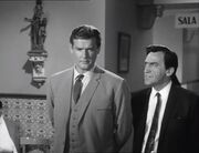 The Saint 1966 Roger Moore and Patrick Troughton