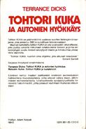 The Auton Invasion Finnish cover back