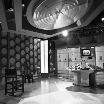 Hartnell Tardis Interior