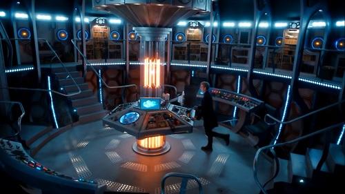 Captivating TARDIS Control Room