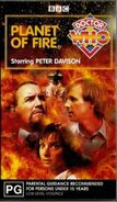 Planet of Fire VHS Australian cover