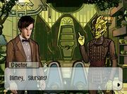 The Doctor and a Silurian (Evacuation Earth)