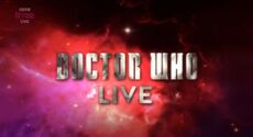 Doctor Who Live Logo